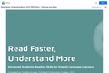 Read Faster, Understand More: Advanced Academic Reading Skills for English Language Learners Compiled by Timothy Krause
