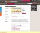 Marketing Management, Fall 2010
