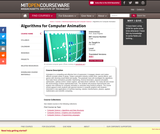 Algorithms for Computer Animation, Fall 2002