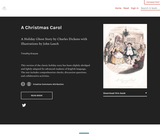 A Christmas Carol - lightly adapted for advanced students of English language by Timothy Krause