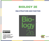 Biology I Course Content, DNA Structure and Function, DNA Structure and Function Resources