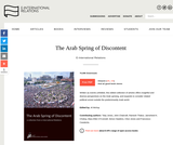 The Arab Spring of Discontent