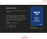 Beginning Excel