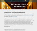 Art Historical Methodologies