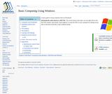Basic Computing Using Windows