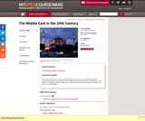 The Middle East in the 20th Century, Fall 2015