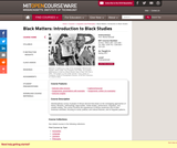 Black Matters: Introduction to Black Studies, Spring 2017