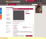 Linear Algebra, Fall 2011
