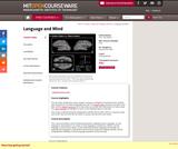 Language and Mind, January (IAP) 2003