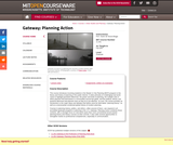 Gateway: Planning Action, Fall 2007
