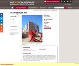 The History of MIT, Spring 2011