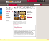 Foundations of World Culture I: World Civilizations and Texts, Fall 2011