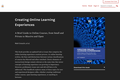Creating Online Learning Experiences