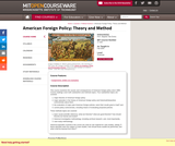 American Foreign Policy: Theory and Method, Fall 2004