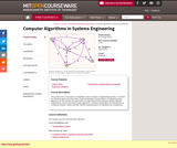 Computer Algorithms in Systems Engineering, Spring 2010