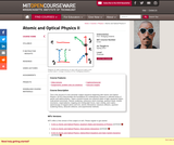 Atomic and Optical Physics II, Spring 2013
