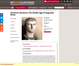 Classical Literature: The Golden Age of Augustan Rome, Fall 2004
