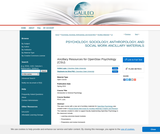 Ancillary Resources for OpenStax Psychology (CSU)