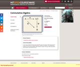 Commutative Algebra, Fall 2008