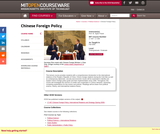 Chinese Foreign Policy, Fall 2005