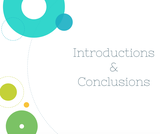 Public Speaking Course Content, Introductions & Conclusions, Introductions & Conclusions Resources