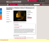Foundations of Western Culture II: Renaissance to Modernity, Spring 2003
