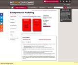 Entrepreneurial Marketing, Spring 2002