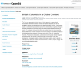 British Columbia in a Global Context