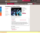 Foundations of Theater Practice, Fall 2009