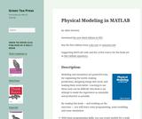 Physical Modeling in MATLAB