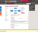 Category Theory for Scientists, Spring 2013