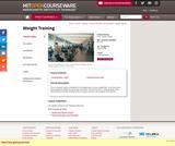 Weight Training, Spring 2006
