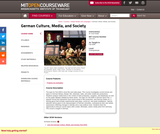 German Culture, Media, and Society, Fall 2006