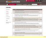 Economics of Education - Calendar