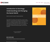 Understanding and Changing the Social World