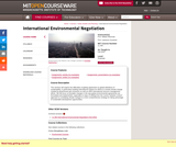 International Environmental Negotiation, Fall 2010