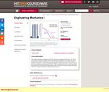 Engineering Mechanics I, Fall 2007