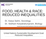 Food, Health & Race: Reduced Inequalities