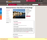 Advanced Seminar: Urban Nature and City Design