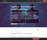 Together: The Science of Social Psychology