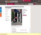 Community-Owned Enterprise and Civic Participation, Spring 2005