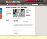 Passing: Flexibility in Race and Gender, Spring 2009