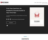 First-Year Seminar: An Academic Success Guide to Your First Year