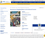 Engaging Music in Its Cultural Context