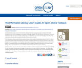The Information Literacy User's Guide: An Open, Online Textbook