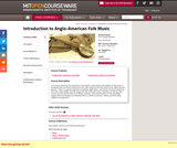 Introduction to Anglo-American Folk Music, Fall 2005