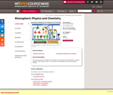 Atmospheric Physics and Chemistry, Spring 2006