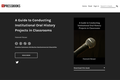 A Guide to Conducting Institutional Oral History Projects in Classrooms