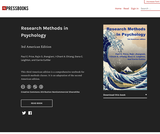 Research Methods in Psychology - 3rd American Edition
