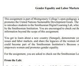 Gender Equality and Labor Markets